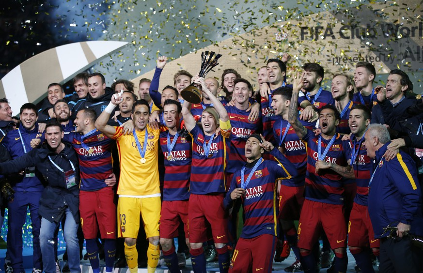 Football Soccer - River Plate v FC Barcelona - FIFA Club World Cup Final - International Stadium Yokohama, Yokohama - 20/12/15