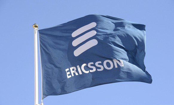 epa07319010 (FILE) - A file photo dated 11 March 2015 showing Ericsson's flag at the company headquarters in Stockholm, Sweden (reissued 25 January 2019). Ericsson on 25 January 2019 released their 4th quarter and full year 2018 earnings results, saying their net sales for 4th quarter 2018 stood at 63.8 billion SEK, compared with 57.9 billion SEK in 2017, an increase of 10 per cent year-on-year. Full year 2018 sales were 210.8 billion SEK, an increase of 3 per cent from 205.4 billion SEK in 2017.  EPA/JONAS EKSTROMER SWEDEN OUT