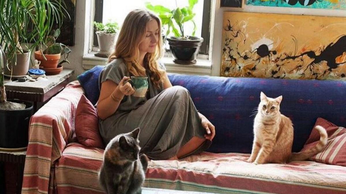 Katzenfrau früher