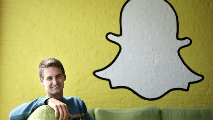 FILE - This Thursday, Oct. 24, 2013 file photo shows Snapchat CEO Evan Spiegel in Los Angeles. Snapchat has agreed to settle with the Federal Trade Commission over charges that it deceived customers about the disappearing nature of messages they send through its service and collected users' contacts without telling them or asking for permission. (AP Photo/Jae C. Hong, File)
