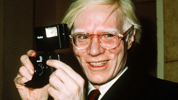 FILE - In this 1976 file photo, pop artist Andy Warhol smiles in New York. A representative Jared Leto confirmed on Sept. 20, 2016, that Leto will star as Warhol in an upcoming biopic. (AP Photo/Richard Drew, File)