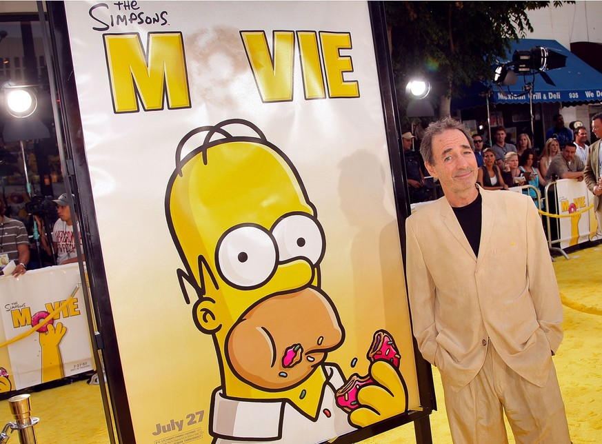 FILE: Harry Shearer Leaves The Simpsons After 25 Years LOS ANGELES, CA - JULY 24:  Actor Harry Shearer arrives at the Los Angeles premiere of 20th Century Fox's