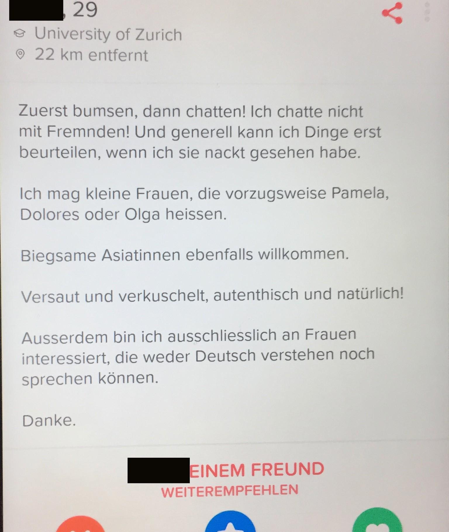 gratis Dating in der Schweiz