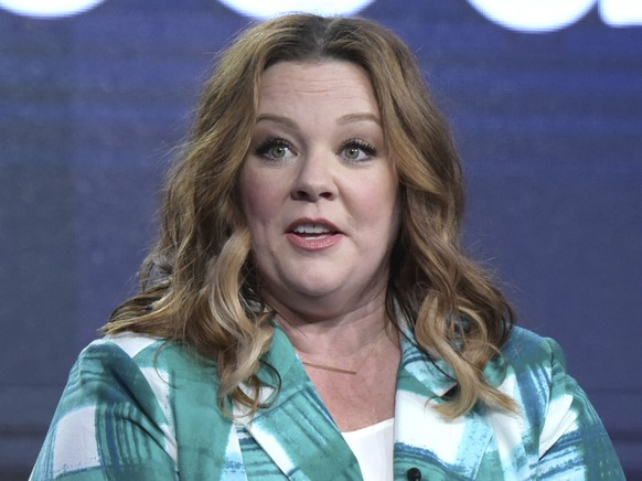 FILE - In this Friday, Jan. 13, 2017, file photo, executive producer Melissa McCarthy speaks at the